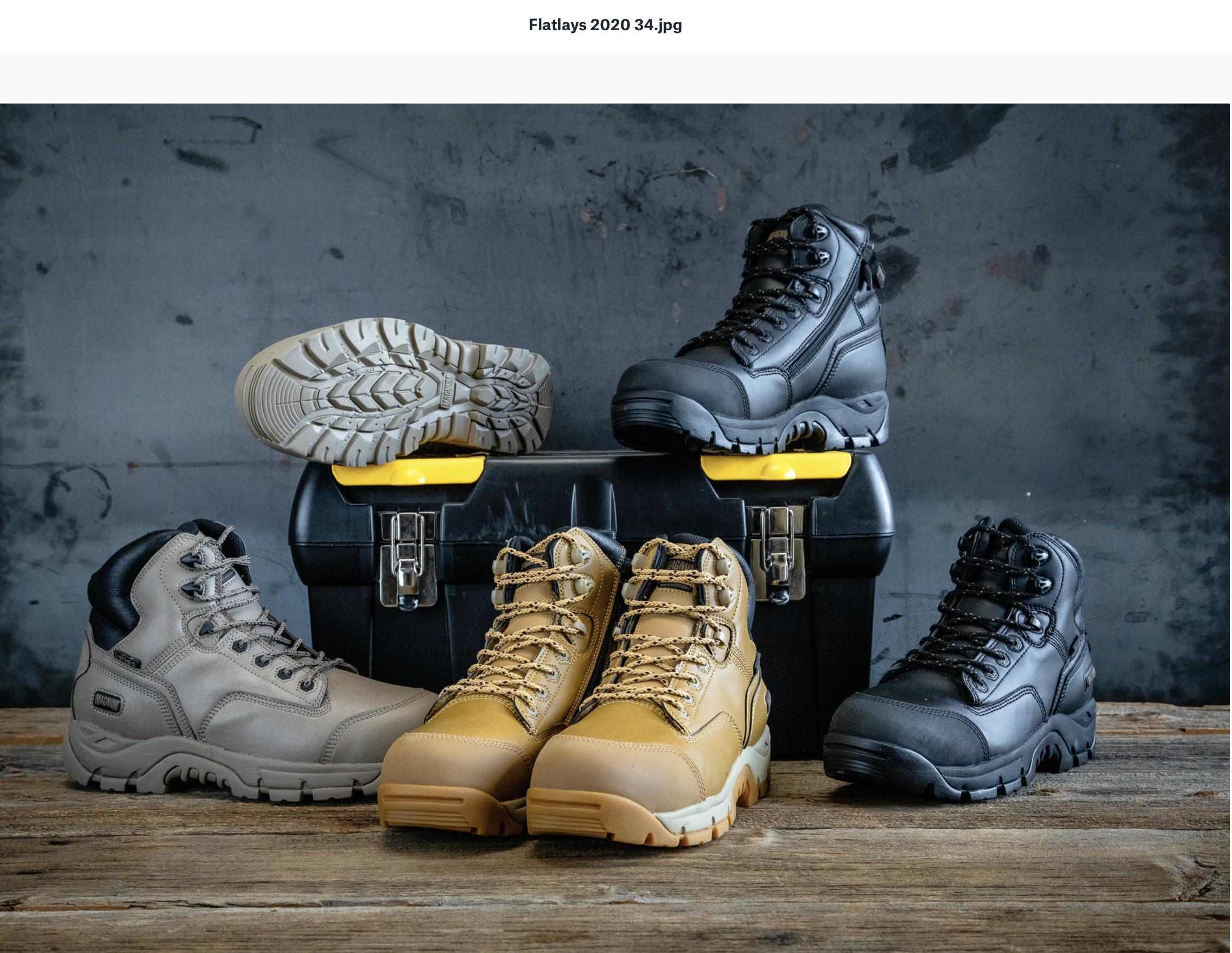 magnum boots
